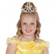 Geen Prinses tiara goud