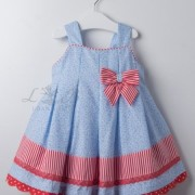 Vestido infantil estrellas Loan Bor