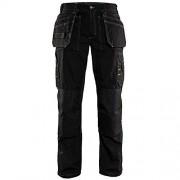 BLAKLADER Workwear - 152518459900 C62 ligero Craftsman Pantalones, tamaño 46/34, color negro