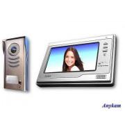 Anykam 591+692SD Video Türsprechanlage mit Kamera und Monitor mit Bildspeicher 2-Draht