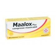 Farma 1000 Srl Maalox Plus 30 Compresse Masticabili