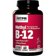 Jarrow Formulas Methyl B-12 5000 Mcg - 60 Lozenges