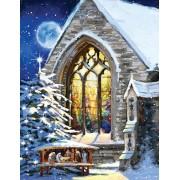 Puzzle SunsOut - The Macneil Studio - Christmas Manger, 1.000 piese XXL (64035)
