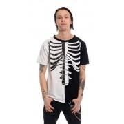 Koszulka gotycka szkielet - FRACTURE T-SHIRT