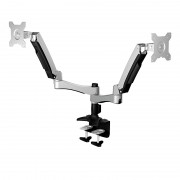 "Raidsonic IB-MS604-T 12""-24"" monitor asztali állvány Silver"