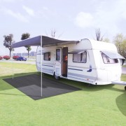 vidaXL Килим за палатка, 300x500 см, антрацит