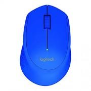 Logitech M280 Ratón, Inalámbrico, Color Azul 910-004361