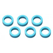 Much-More MW4-20B Spacer 4 x 2mm Blue alloy (6)