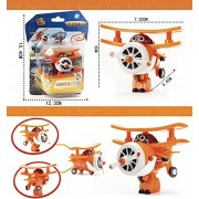 Super Wings Mini Airplane ABS Robot toys Action Figures Super Wing Transformation Jet Animation