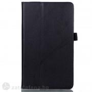 Кожен калъф за Huawei MediaPad M3, 8.4 инча - черен