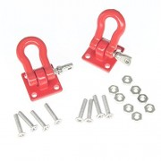 HobbyPark RC Rock Crawler 1/10 Accessories Trailer Towing Buckle Tow Hooks Shackles for Axial SCX10 TAMIYA CC01 RC4WD D90 D110 TF2 Climbing Car Truck Trailer Parts