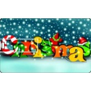 Printland Credit Card Merry Xmas 2014 8 GB Pen Drive(Multicolor)