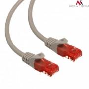 Maclean MCTV-303S Patchcord UTP cat6 Cable plug-plug 3m silver