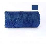 Macrame Koord - KONINGSBLAUW / ROYAL BLUE - Waxed Polyester Cord - Klos 914 cm - 1mm dik