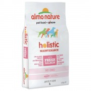 Almo Nature Holistic Large Adult con Salmone e Riso - 2 x 12 kg