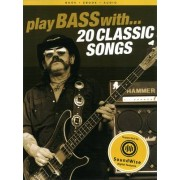 Wise Publications Play Bass With 20 Classic Song