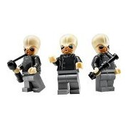 LEGO Star Wars Lot of 3 Minifigures Bith Musician Band from Mos Eisley Cantina (75052)