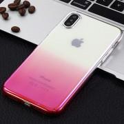 Funda Galvanizado Y Cambio Paulatinopara Para IPhone X - Rosa