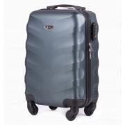 Średnia walizka podróżna STL402 ZIELONY 62L ABS - ZIELONY CIEMNY