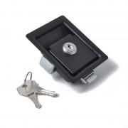 Zwarte Paddle ingang deur klink & sleutels-gereedschapskist voor Trailer / boot / vrachtwagen