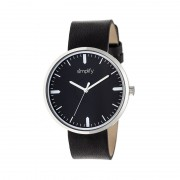 Simplify The 4500 Leather-Band Watch - Silver/Black SIM4501
