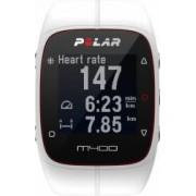 Smartband Polar M400 GPS Alb + Senzor HR Polar H7