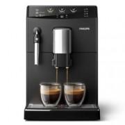 Автоматична еспресо машина Philips HD 8827 / 09, 1850W, 15 bar налягане, керамични мелачки за кафе, Aroma Plus, черна