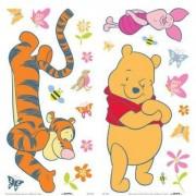 Crearreda adesivo murale sticker adesivo winnie the pooh butterfly wall