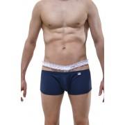 Petit-Q Wingles Lace Waistband Boxer Brief Underwear Navy PQ180311