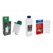 Filter Logic CFL-902B Filtr do ekspresów Philips Saeco + Saeco CA6700 (21002351) Odkamieniacz do ekspresów 500ml + Saeco CA6704 (21001883) Tabletki cz