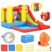 Happy Hop Insuflável com escorrega e piscina 350x280x190 cm PVC