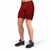 Gorilla Wear Smart Shorts - Bordeauxrood - XL