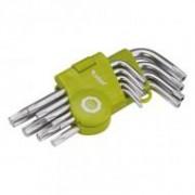 Extol Craft lyukas torx imbuszkulcs készlet 9 darabos (66010)