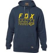 Fox Lockwood Pullover Feece Sudadera con capucha Azul S