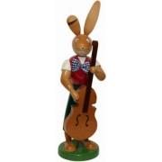 Osterhase mit Bass 25cm