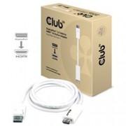 CLUB3D DISPLAYPORT 1.2 MALE - HDMI 2.0 MALE 4K 60HZ 3M