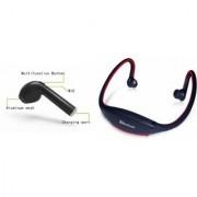 CLAIRBELL Bluetooth Headset & BS19C Bluetooth Headset for Lenovo Vibe P5(HBQ I7R Bluetooth Headset | BS19C Bluetooth Headset With Mic Sports Headset )