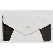 Guess Gia Envelope Clutch alb/negru