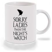 Mooch Wale Game Of Thrones Crow Sorry Ladies Im In The Nights Watch Ceramic Mug