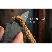 Survival Tool Credit Card Shaped Folding Safety Knife - portable knife - pocket knife - Camping wallet knife