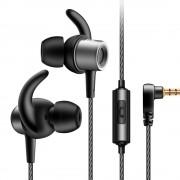 QKZ CK1 vezetékes fülhallgató és headset, ezüst