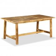 vidaXL Masă de bucătărie, lemn masiv de mango, 180 cm
