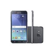 Smartphone Samsung Galaxy J7 Duos Dual Chip Android 5.1 Tela 5.5 16GB 4G Câmera 13MP - Preto
