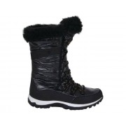 Women's Kardrona II Metallic Faux Fur Trimmed Snow Boots Black