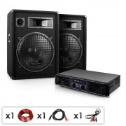 Auna-Skytec MIAMI QUASAR Set audio DJ