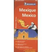 Wegenkaart - landkaart 765 Mexico   Michelin