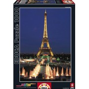 Educa Jigsaw Puzzle - Eiffil Tower, Paris - 1000 pieces