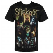 metál póló férfi Slipknot - Nesses Jumbo Print - BRAVADO - 15092147