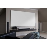 Ecran proiectie fix perete fara bordura EliteScreens AEON AR110WH2, marime vizibila 243,5 cm x136,9 cm