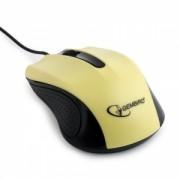 Mouse Cu Fir Gembird MUS-101-Y Optic Galben